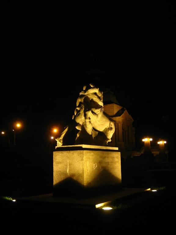 Wały Chrobrego - człowiek i centaur